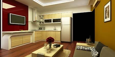 1 Thiết kế tủ bếp đẹp