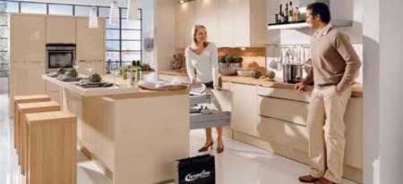 3 Thiết kế tủ bếp đẹp