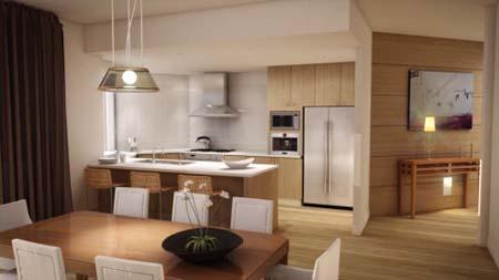 4 Thiết kế tủ bếp đẹp