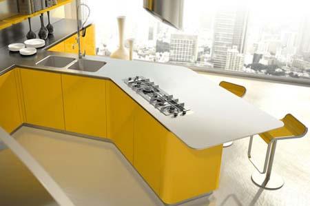1 Tủ bếp đẹp năm 2012