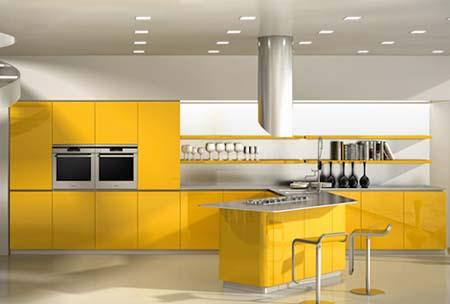 3 Tủ bếp đẹp năm 2012