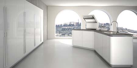 5 Tủ bếp đẹp năm 2012
