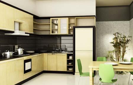 Thiết kế bếp gọn đẹp xinh cho ngôi nhà bạn