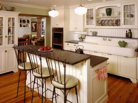 3 Tủ bếp trắng hiện đại