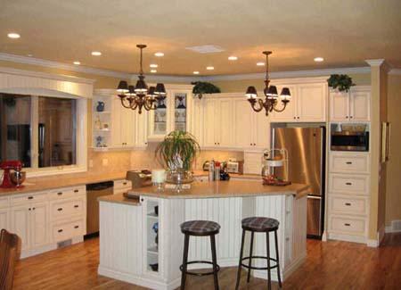 4 Tủ bếp trắng hiện đại