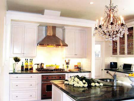 5 Tủ bếp trắng hiện đại
