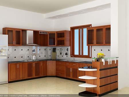 4 Tủ bếp treo tường