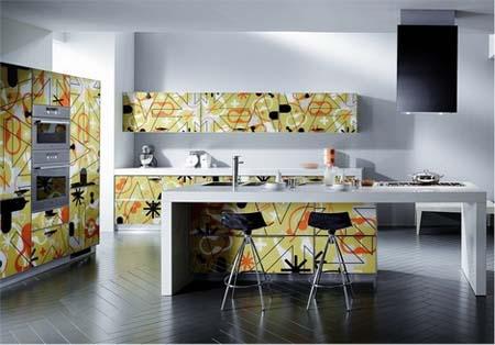 1 Mẫu tủ bếp hiện đại