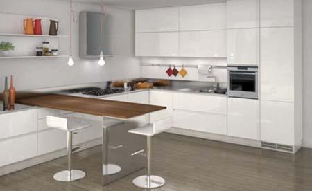 3 Mẫu tủ bếp hiện đại