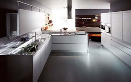 4 Mẫu tủ bếp hiện đại