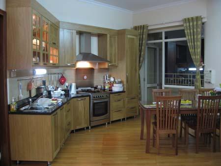 5 Mẫu tủ bếp hiện đại