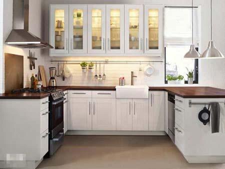 3 Kiểu tủ bếp