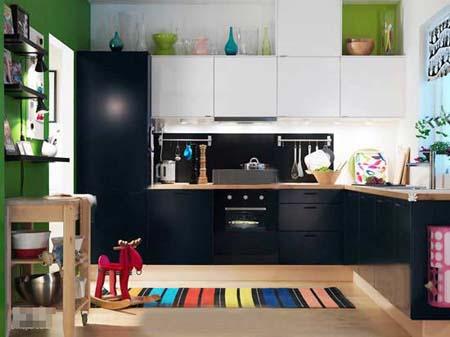 6 Kiểu tủ bếp