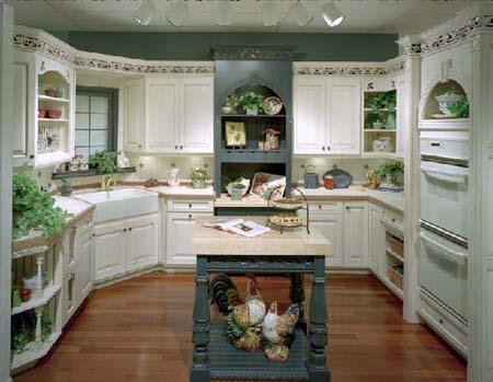2 Tủ bếp cổ điển