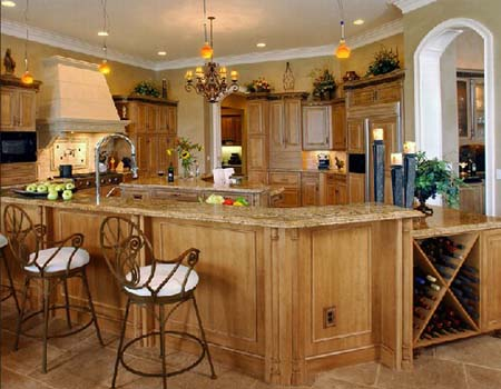 5 Tủ bếp cổ điển