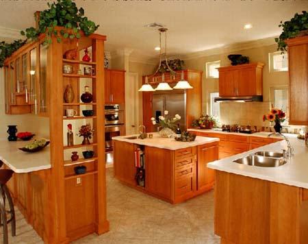 6 Tủ bếp cổ điển