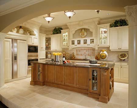 8 Tủ bếp cổ điển
