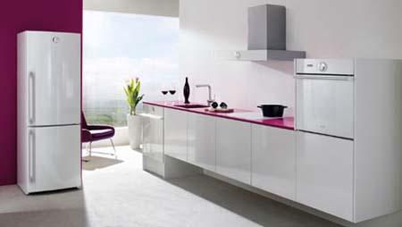 1 Tủ bếp trắng