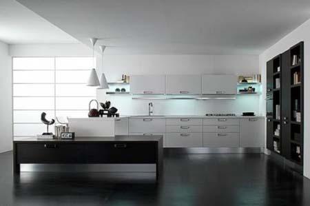 4 Tủ bếp trắng