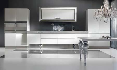 5 Tủ bếp trắng
