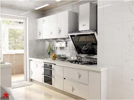 6 Tủ bếp trắng