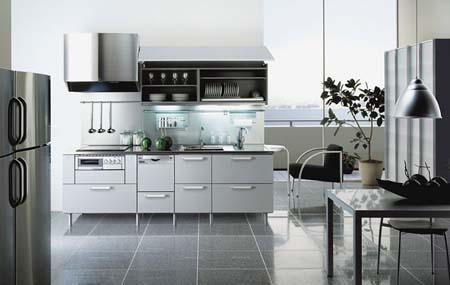 7 Tủ bếp trắng