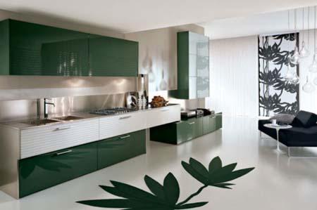 3 Tủ bếp phong cách Châu Âu