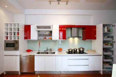 6 Tủ bếp phong cách Châu Âu