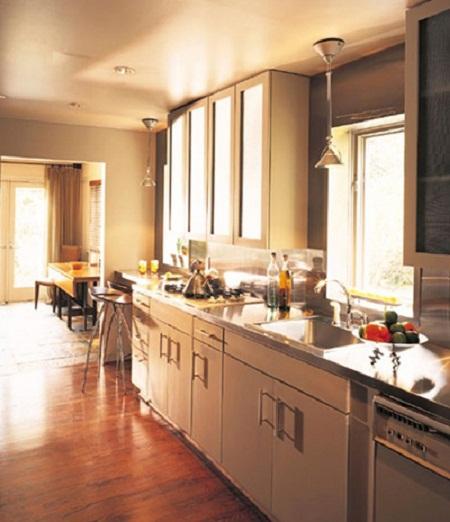 phong cach bep2 9 phong cách tủ bếp đẹp