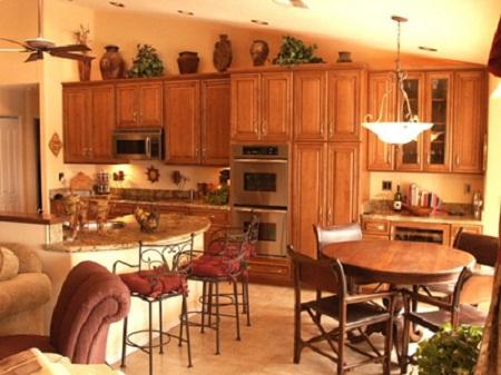 phong cach bep9 9 phong cách tủ bếp đẹp