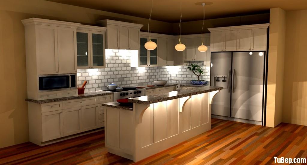 5fbfb711d82807 2.jpg Tủ bếp gỗ tự nhiên Sồi Mỹ sơn men trắng kết hợp bàn bar – TVB413
