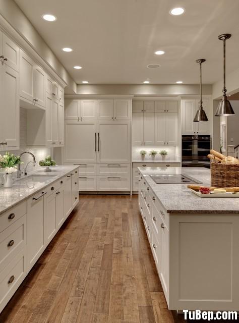2ed81036e2Sồi.jpg Tủ bếp gỗ tự nhiên Sồi Nga sơn men trắng – TVB335