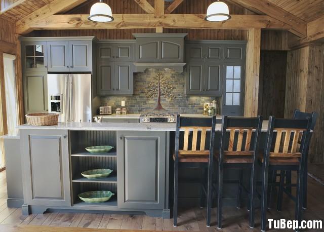 ad007abc15u xám.jpg Tủ bếp gỗ Sồi sơn men xám chữ I TVT0402
