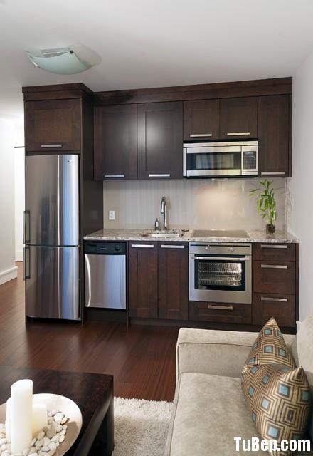 d5c676a365U màu.jpg Tủ bếp gỗ tự nhiên Tần Bì sơn PU màu – TVB345