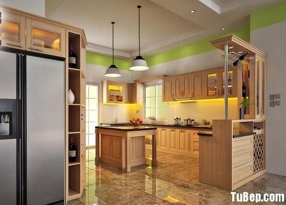 cfa05304ed2607 4.jpg Tủ bếp gỗ tự nhiên Sồi Mỹ kết hợp bàn bar – TVB405