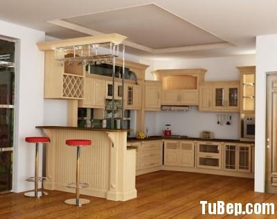 f06ca329d0 Tủ bếp gỗ Sồi Nga – TVB282