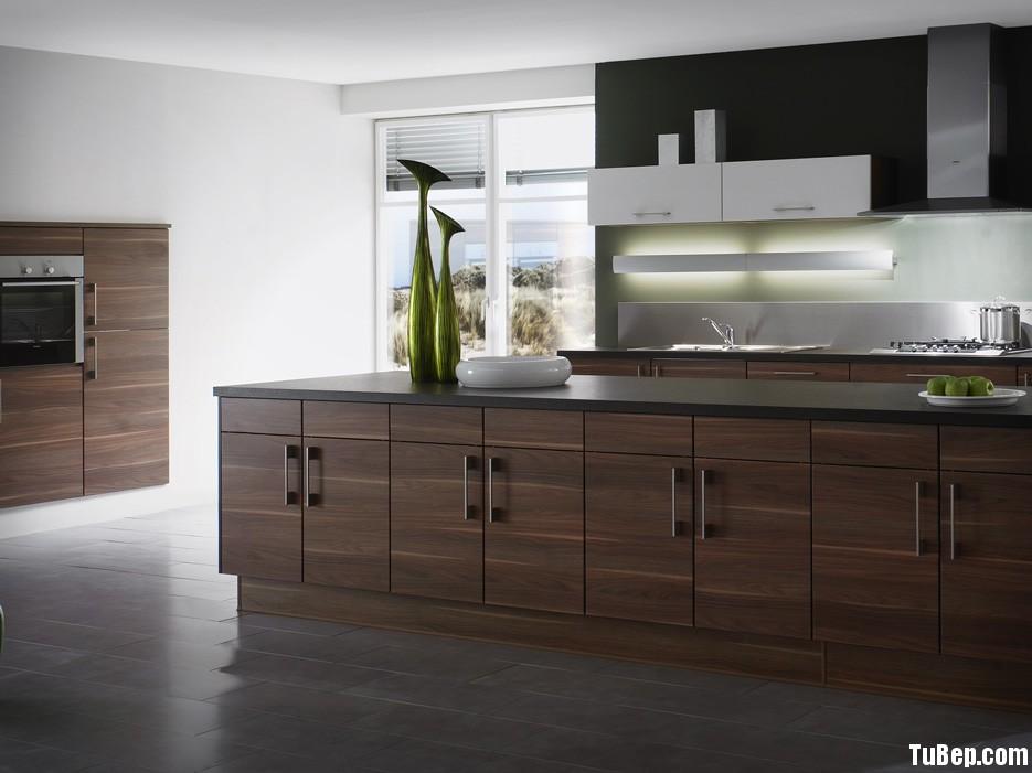 Tủ bếp Laminate có đảo TVT0309