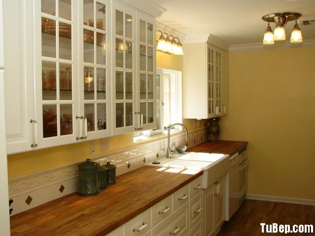 7be1ca3722 Tủ bếp gỗ tự nhiên Sồi sơn men – TVB341
