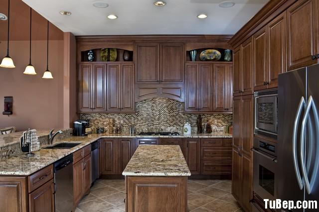 155a16d002DUKDT5.jpg Tủ bếp gỗ tự nhiên – TVN558