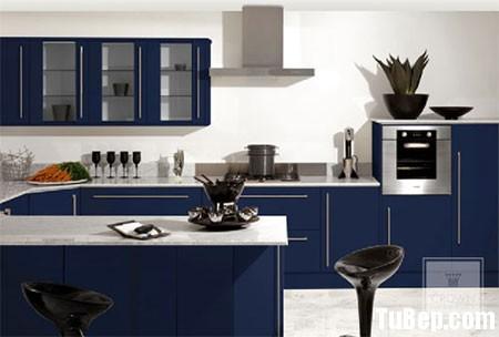 925ad321afe xanh.jpg Tủ bếp gỗ Laminate chữ U màu xanh dương TVT0499