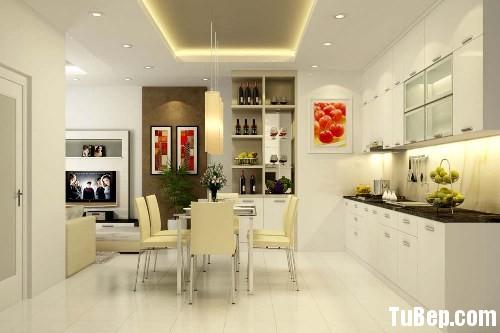 de0e7652f9crylic.jpg Tủ bếp gỗ Acrylic màu trắng chữ I TVT0487
