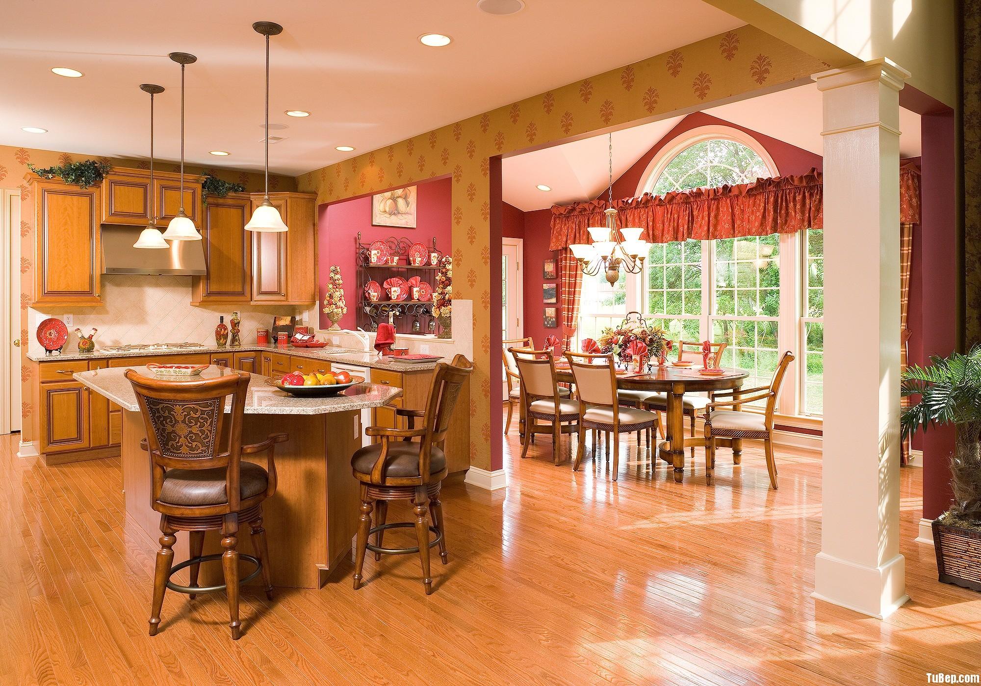 06182cbd69iên 1.jpg Tủ bếp gỗ tự nhiên có đảo TVT0468
