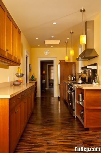 6b48761fab Tủ bếp gỗ Sồi Nga sơn PU – TVB609