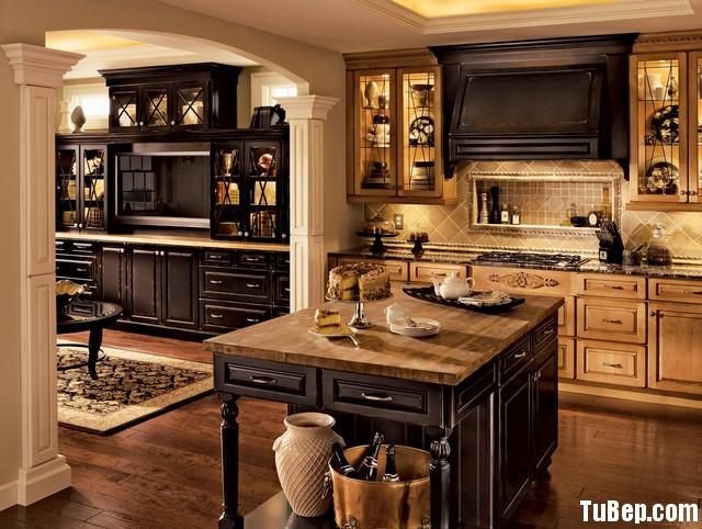 f8093e22bfnets 5.jpg Tủ bếp gỗ tự nhiên sơn men đen chữ I TVT0521