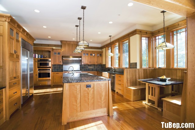 b42a947caf Tủ bếp gỗ Sồi Nga – TVB525