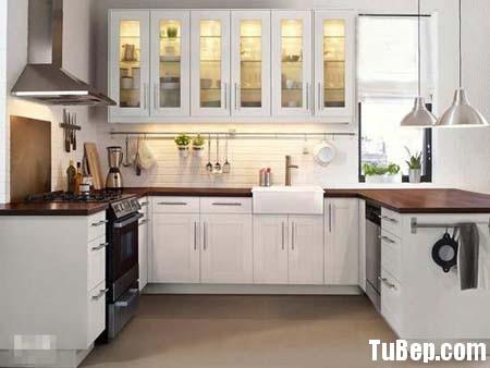 977a654205ắng1.jpg Tủ bếp gỗ tự nhiên sơn men trắng chữ U TVT0484