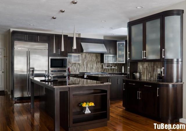 dbc109b82eets 15.jpg Tủ bếp gỗ tự nhiên sơn men màu nâu đen có đảo TVT0558