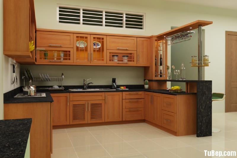 f5c0b832e310091.jpg Tủ bếp gỗ Xoan Đào tự nhiên chữ L có quầy bar TVT0709