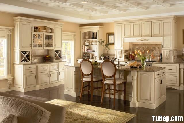 613239430824092.jpg2 Tủ bếp gỗ tự nhiên sơn men trắng chữ L có đảo – TVB781