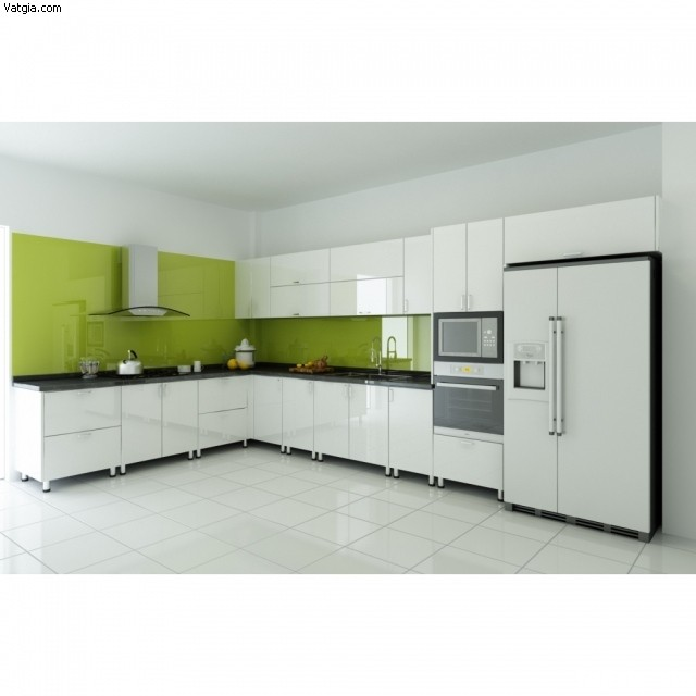 5067ccef6c716916.jpg Tủ bếp Acrylic màu trắng chữ L TVT0666